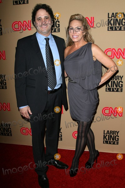 """George Maloof, Adrienne Maloof, Larry King Photo - 16 December 2010 - Beverly Hills, California - George Maloof Jr. and Adrienne Maloof. CNN's """"Larry King Live"""" Final Broadcast Wrap Party held at at Spago. Photo: Byron Purvis/AdMedia"""