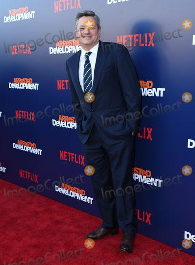 "Ted Sarandos, Arrested Development Photo - 17 May 2018 - Hollywood, California - Ted Sarandos. Netflix's ""Arrested Development"" Season 5 Premiere held at Netflix FYSee Theater. Photo Credit: Birdie Thompson/AdMedia"