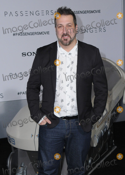 "Joey Fatone Photo - 14 December 2016 - Westwood, California - Joey Fatone. The Los Angeles premiere of ""Passengers"" held at Regency Village Theatre. Photo Credit: Birdie Thompson/AdMedia"