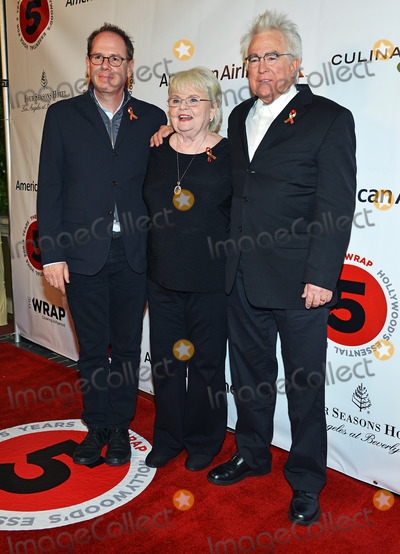 Albert Berger, Four Seasons, Ron Yerxa, The Four Seasons, June Squibb Photo - 26 February 2014 - Los Angeles, California - June Squibb, Ron Yerxa and Albert Berger. TheWrap.com Pre-Oscar Party held at Culina Restaurant at the Four Seasons Hotel. Photo Credit: Christine Chew/AdMedia