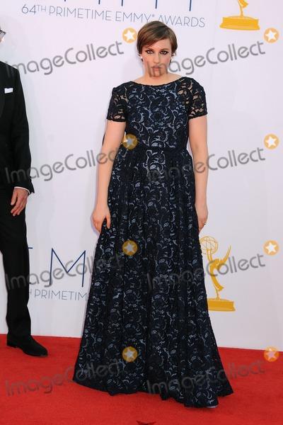Lena Dunham Photo - 23 September 2012 - Los Angeles, California - Lena Dunham. 64th Primetime Emmy Awards - Arrivals held at Nokia Theatre L.A. LIVE. Photo Credit: Byron Purvis/AdMedia