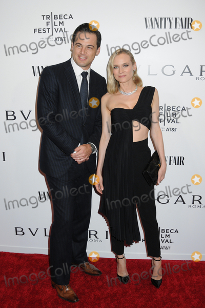 Diane Kruger, Daniel Paltridge Photo - 23 April 2019 - New York, New York - Daniel Paltridge and Diane Kruger at BVLGARIs World Premiere of Celestial and The Fourth Wave, with Vanity Fair for the 18th Annual Tribeca Film Festival at Spring Studios. Photo Credit: LJ Fotos/AdMedia