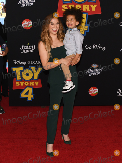"Allison Holker Photo - 12 June 2019 - Hollywood, California - Allison Holker. ""Toy Story 4"" Disney and Pixar Los Angeles Premiere held at El Capitan Theatre. Photo Credit: Billy Bennight/AdMedia"