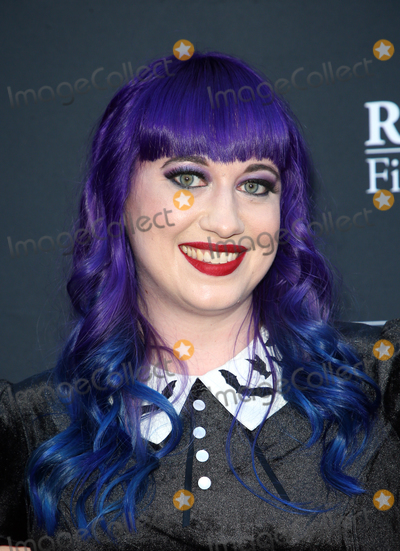 """Chelsea Stardust Photo - 23 August 2019 - Hollywood, California - Chelsea Stardust. Premiere Of """"Satanic Panic"""" held at The Egyptian Theatre. Photo Credit: FSadou/AdMedia"""