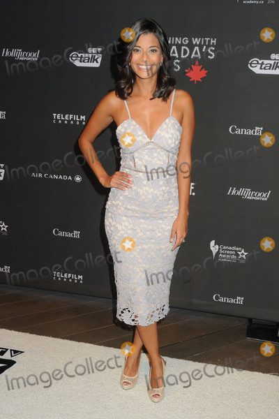 "Andrea Drepaul, Four Seasons, The Four Seasons Photo - 25 February 2016 - Los Angeles, California - Andrea Drepaul. 3rd Annual ""An Evening With Canada's Stars"" held at the Four Seasons Hotel. Photo Credit: Byron Purvis/AdMedia"