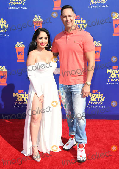 Angelina Pivarnick Photo - 15 June 2019 - Santa Monica, California - Angelina Pivarnick. 2019 MTV Movie and TV Awards held at Barker Hangar. Photo Credit: Birdie Thompson/AdMedia
