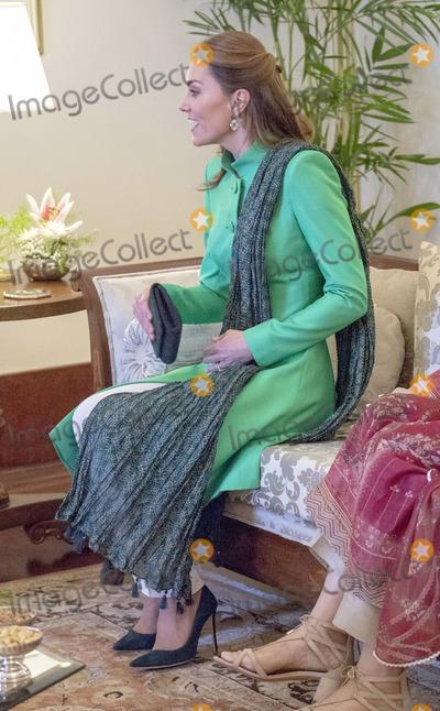 Arif, Kate Middleton Photo - 15 October 2019 - Islamabad, Pakistan - Kate Duchess of Cambridge, Catherine, Katherine Middleton during a meeting with the President of Pakistan Dr. Arif Alvi  at the Presidential Palace. Photo Credit: ALPR/AdMedia