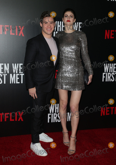 """Alexandra Daddario, Adam DeVine Photo - 20 February 2018 - Hollywood, California - Adam Devine, Alexandra Daddario. Special Screening of Netflix """"When We First Met"""" held at Arclight Hollywood. Photo Credit: F. Sadou/AdMedia"""