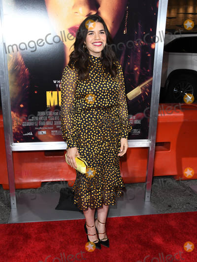"America Ferrera Photo - 30 January 2019 - Los Angeles, California - America Ferrera. ""Miss Bala"" Los Angeles Premiere held at Regal Cinemas LA Live. Photo Credit: Birdie Thompson/AdMedia"