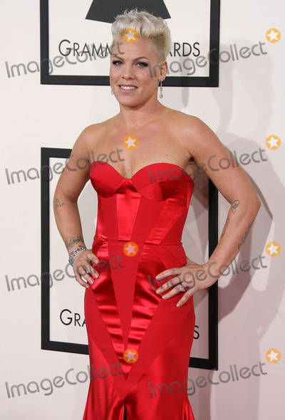 Alecia Moore, Pink, Pink (Alecia Moore), Grammy Awards Photo - 26 January 2014 - Los Angeles, California - Pink, Alecia Moore. 56th GRAMMY Awards held at the Staples Center. Photo Credit: AdMedia
