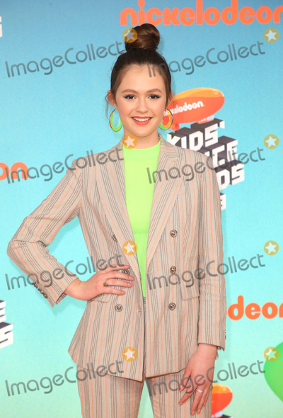 Olivia Sanabia Photo - 23 March 2019 - Los Angeles, California - Olivia Sanabia. 2019 Nickelodeon Kids' Choice Awards held at The USC Galen Center. Photo Credit: Faye Sadou/AdMedia