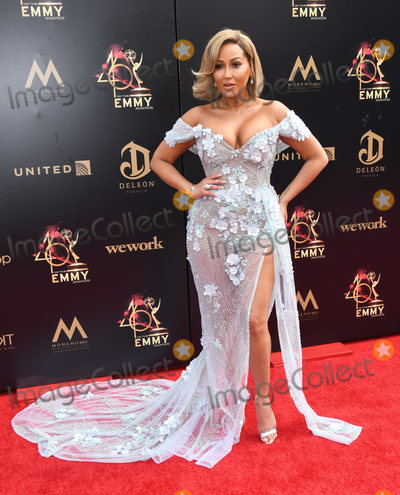 Adrienne Bailon, Adrienne Houghton Photo - 05 May 2019 - Pasadena, California - Adrienne Bailon, Adrienne Houghton. 46th Annual Daytime Emmy Awards - Arrivals held at Pasadena Civic Auditorium. Photo Credit: Birdie Thompson/AdMedia