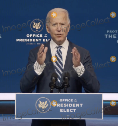Joe Biden, Queen Photo - In this image from the Biden Presidential Transition video feed, United States President-elect Joe Biden makes a statement on the Affordable Care Act at the Queen Theatre in Wilmington, Delaware on Friday, November 6, 2020.Credit: Biden Presidential Transition via CNPIn this image from the Biden Presidential Transition video feed, United States President-elect Joe Biden makes a statement on the Affordable Care Act at the Queen Theatre in Wilmington, Delaware on Friday, November 6, 2020.Credit: Biden Presidential Transition via CNP/AdMedia