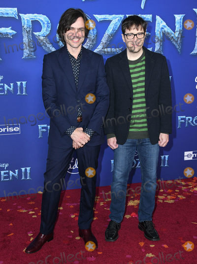"Brian Bell, Rivers Cuomo Photo - 07 November 2019 - Hollywood, California - Brian Bell, Rivers Cuomo. Disney's ""Frozen 2"" Los Angeles Premiere held at Dolby Theatre. Photo Credit: Birdie Thompson/AdMedia"