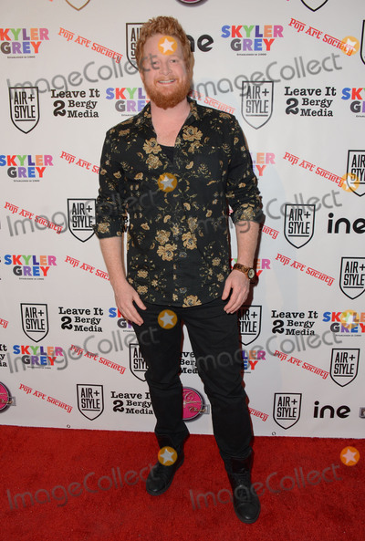 """Bill Parks, Skyler Grey Photo - 11 February  - Hollywood, Ca - Bill Parks. Arrivals for the Pop Society's """"Flashy"""" Solo Art Exhibition by 16 year old Skyler Grey held at 6363 Hollywood Blvd.. Photo Credit: Birdie Thompson/AdMedia"""