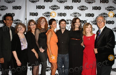 "Emily Deschanel, Jason Ritter, Kristen Dalton, Richard Chamberlain, Sharon Lawrence, Rebecca Wackler, Angelique Cabral, Angelique  Cabral Photo - 17 July 2011 - West Hollywood, California - Gregory Zaragoza, Rebecca Wackler, Kristen Dalton, Angelique Cabral, Jason Ritter, Emily Deschanel, Sharon Lawrence, Richard Chamberlain. 2011 Outfest Film Festival Screening Of ""The Perfect Family"" Closing Night- Arrivals  Held At The DGA Theatre. Photo Credit: Kevan Brooks/AdMedia"