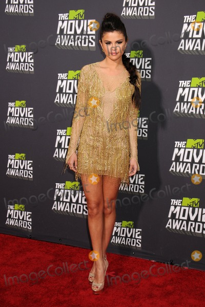 Selena Gomez, Gomez Photo - 14 April 2013 - Culver City, California - Selena Gomez. 2013 MTV Movie Awards - Arrivals held at Sony Pictures Studios. Photo Credit: Byron Purvis/AdMedia