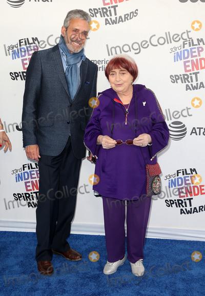 Agnes Varda, Agnès Varda Photo - 03 March 2018 - Santa Monica, California - Agnes Varda. 33rd Annual Film Independent Spirit Awards held at the Santa Monica Pier. Photo Credit: F. Sadou/AdMedia