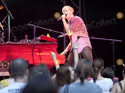 Andrew McMahon, Jack's Mannequin, Jackée Photo - August 24, 2011 - Atlanta, GA - Andrew McMahon. Jack's Mannequin made a stop at Chastain Park  and performed for an enthusiastic crowd of fans. Photo credit: Dan Harr/AdMedia