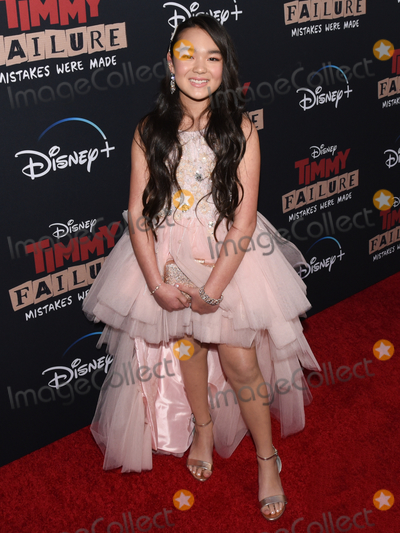 """Ai-Chan Carrier Photo - 29 January 2020 - Hollywood, California - Ai-Chan Carrier. The Disney + Premiere of """"Timmy Failure: Mistakes Were Made"""" at El Capitan Theatre. Photo Credit: Billy Bennight/AdMedia"""