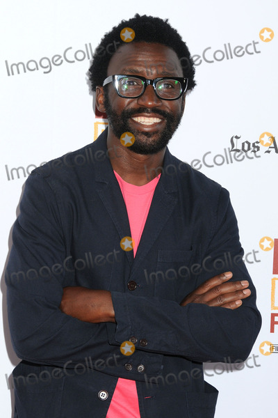 """ANTHONY OKUNGBOWA Photo - 11 June 2014 - Los Angeles, California - Anthony Okungbowa. 20th Annual Los Angeles Film Festival Opening Night Premiere of """"Snowpiercer"""" held at Regal Cinemas L.A. Live. Photo Credit: Byron Purvis/AdMedia"""