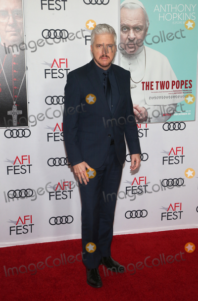 """Anthony McCarten, Audy, TCL Chinese Theatre Photo - 18 November 2019 - Hollywood, California - Anthony McCarten. AFI FEST 2019 Presented By Audi  """"The Two Popes"""" Premiere held at TCL Chinese Theatre. Photo Credit: FS/AdMedia"""