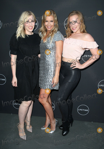 """Andrea Schroder, Natasha Bedingfield Photo - 16 August 2017 - Los Angeles, California - Natasha Bedingfield, Andrea Schroder, Nikola Rachelle Bedingfield. Lifetime's New Docuseries """"Growing Up Supermodel"""" Exclusive LIVE Viewing Party Hosted By Andrea Schroder. Photo Credit: F. Sadou/AdMedia"""