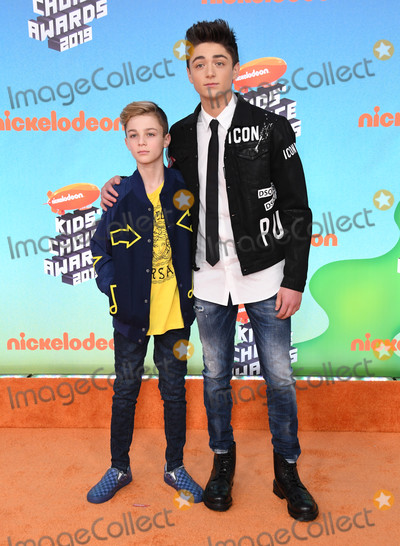 Asher Angel, Avi Angel, Angel Asher Photo - 23 March 2019 - Los Angeles, California - Avi Angel, Asher Angel. 2019 Nickeldeon Kid's Choice Awards held at The USC Galen Center. Photo Credit: Birdie Thompson/AdMedia