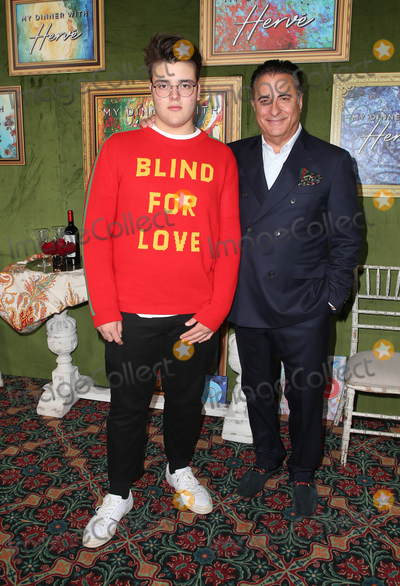 """Andres Garcia, Andy Garcia Photo - 4 October 2018-  Hollywood, California - Andy Garcia, Andres Garcia-Lorido, HBO Films' """"My Dinner With Herve"""" Premiere held at Paramount Studios. Photo Credit: Faye Sadou/AdMedia"""