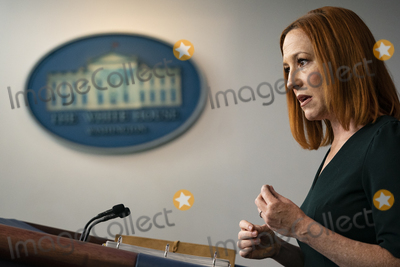 White House, The White Photo - White House Press Secretary Jen Psaki speaks during her daily press briefing at the White House on Tuesday, May 4, 2021 in Washington, D.C. Credit: Alex Edelman / Pool via CNP/AdMedia