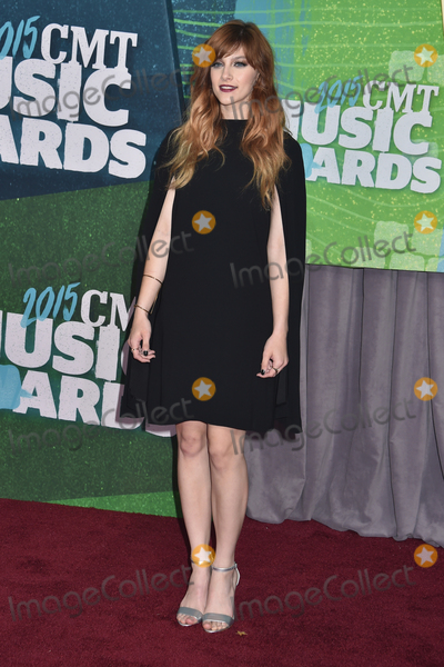 Aubrey Peeples Photo - 10 June 2015 - Nashville, Tennessee - Aubrey Peeples. 2015 CMT Music Awards held at Bridgestone Arena. Photo Credit: Laura Farr/AdMedia