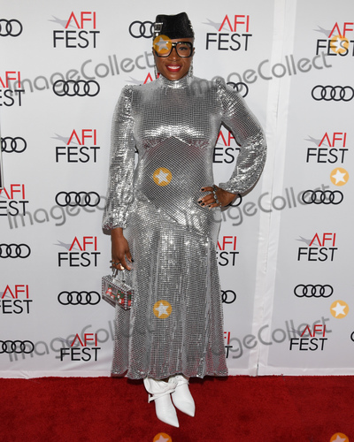 "Aisha Hinds, Audy, Queen, TCL Chinese Theatre Photo - 14 November 2019 - Hollywood, California - Aisha Hinds. AFI FEST 2019 Presented By Audi  ""Queen & Slim"" Premiere held at TCL Chinese Theatre. Photo Credit: Billy Bennight/AdMedia"