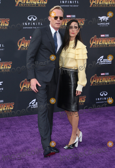 "Jennifer Connelly, Paul Bettany Photo - 23 April 2018 - Hollywood, California - Paul Bettany and Jennifer Connelly. Disney and Marvel's ""Avengers: Infinity War"" Los Angeles Premiere held at Dolby Theater. Photo Credit: F. Sadou/AdMedia"