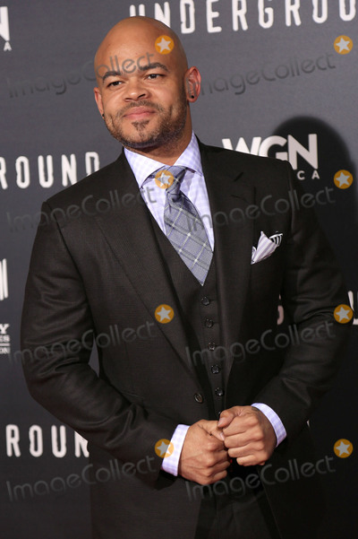 "Anthony Hemingway Photo - 02 March 2016 - Los Angeles, California - Anthony Hemingway. ""Underground"" Los Angeles Premiere held at The Theatre At The Ace Hotel. Photo Credit: Winston Burris/AdMedia"