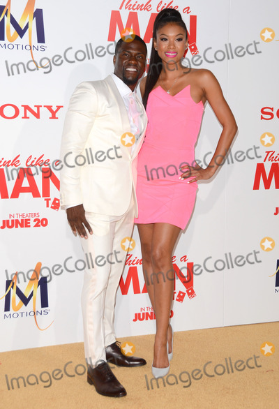 """Kevin Hart, Eniko Parrish Photo - 09 June 2014 - Hollywood, California - Kevin Hart, Eniko Parrish. Arrivals for the Los Angeles premiere of Screen Gems' """"Think Like A Man Too"""" at the TCL Chinese Theater in Hollywood, Ca. Photo Credit: Birdie Thompson/AdMedia"""