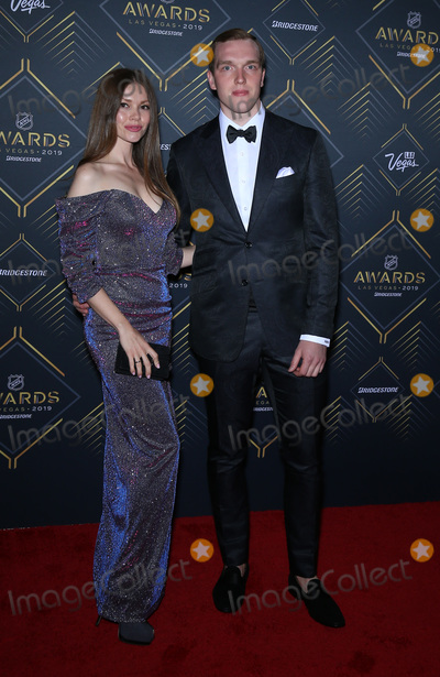 Andrei Vasilevskiy Photo - 19 June 2019 - Las Vegas, NV - Andrei Vasilevskiy. 2019 NHL Awards Red Carpet Arrivals at the Mandalay Bay Events Center. Photo Credit: MJT/AdMedia