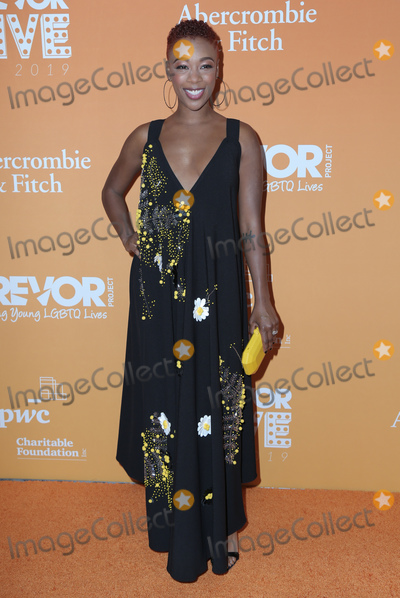 Samira Wiley Photo - 17  November 2019 - Beverly Hills, California - Samira Wiley. The Trevor Project's TrevorLIVE LA 2019 held at The Beverly Hilton Hotel. Photo Credit: PMA/AdMedia