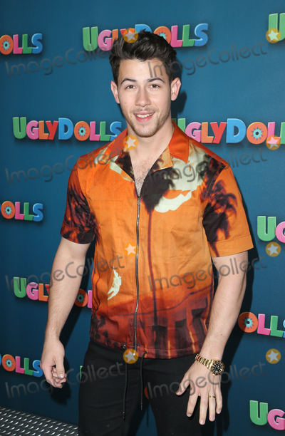"Nick Jonas, Four Seasons, Jona, The Four Seasons Photo - 13 April 2019 - Beverly Hills, California - Nick Jonas. STX Entertainment's ""UglyDolls"" Photo Call  held at The Four Seasons Hotel. Photo Credit: Faye Sadou/AdMedia"