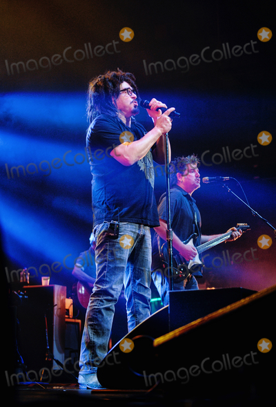 Adam Duritz, Counting Crowes, Counting Crows Photo - 12 May 2015 - Hamilton, Ontario, Canada.  Adam Duritz (vocalist) and David Immergluck (guitarist) of Counting Crows perform on stage at Hamilton Place Theatre. Photo Credit: Brent Perniac/AdMedia