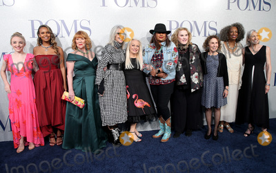 "Celia Weston, Diane Keaton, Jacki Weaver, Pam Grier, Rhea Perlman, Jackie Weaver, Alisha Boe, Carol Sutton, Alexandra Ficken Photo - 01 May 2019 - Los Angeles, California - Alexandra Ficken, Alisha Boe, Patti French, Diane Keaton, Jacki Weaver, Pam Grier, Celia Weston, Rhea Perlman, Carol Sutton, Ginny MacColl. ""Poms"" World Premiere held at Regal LA Live. Photo Credit: Faye Sadou/AdMedia"