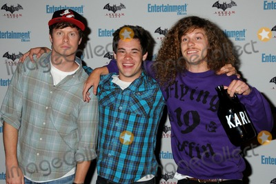 Vines, Blake Anderson, Anders Holm, Adam DeVine Photo - 23 July 2011 - San Diego, California - Anders Holm, Adam DeVine and Blake Anderson. 5th Annual Entertainment Weekly Comic-Con Party held at The Hard Rock Cafe. Photo Credit: Byron Purvis/AdMedia