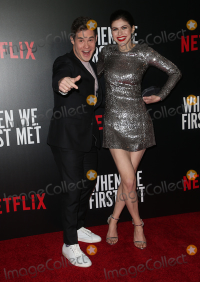 "Alexandra Daddario, Adam DeVine Photo - 20 February 2018 - Hollywood, California - Adam Devine, Alexandra Daddario. Special Screening of Netflix ""When We First Met"" held at Arclight Hollywood. Photo Credit: F. Sadou/AdMedia"