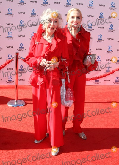 Ann Rutherford, Anne Jefferys, Anne Rutherford, Anne Jefferies, Grauman's Chinese Theatre Photo - 28 April 2011 - Hollywood, California - Ann Rutherford and Anne Jefferys. 2011 TCM Classic Film Festival Opening Night Held At The Grauman Chineses Theatre. Photo: Kevan Brooks/AdMedia