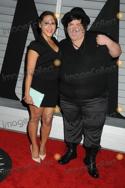 Harvey Guillen, Ashley Holliday Photo - 10 June 2014 - West Hollywood, California - Ashley Holliday, Harvey Guillen. Maxim Hot 100 Women of 2014 Celebration held at the Pacific Design Center. Photo Credit: Byron Purvis/AdMedia