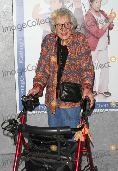 """Ann Guilbert Photo - 28 October 2014 - Hollywood, California - Ann Guilbert. HBO's comedy Series """"Getting On"""" Season 2 Los Angeles Premiere held at Avalon Hollywood. Photo Credit: AdMedia"""
