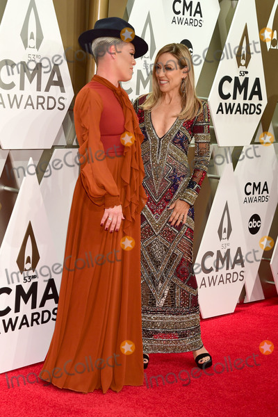Pink, Sheryl Crow, CMA Award, Sheryl Crowe Photo - 13 November 2019 - Nashville, Tennessee - P!nk, Pink, Sheryl Crow. 53rd Annual CMA Awards, Country Music's Biggest Night, held at Music City Center. Photo Credit: Laura Farr/AdMedia