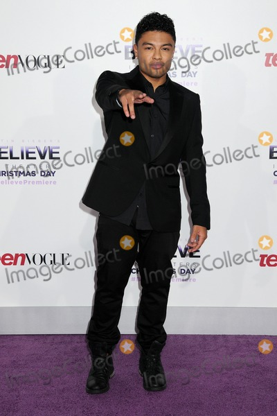 "Alfredo Flores, Justin Bieber Photo - 18 December 2013 - Los Angeles, California - Alfredo Flores. ""Justin Bieber's Believe"" World Premiere held at Regal Cinemas L.A. Live. Photo Credit: Byron Purvis/AdMedia"