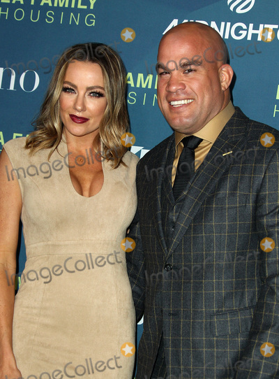 Amber Nicole, Dwayne Johnson, Nicole Miller, Tito Ortiz Photo - 5 April 2018 - Los Angeles, California - Tito Ortiz with Amber Nicole Miller. Dwayne Johnson Honored at the LA Family Housing Awards 2018 held at The Lot. Photo Credit: AdMedia