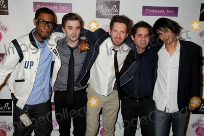 """Kyle Gallner, Ryan Pinkston, Cougar, Asher Levin Photo - 31 March 2011 - Hollywood, California - Christian Murphy, Kyle Gallner, K. Asher Levin, Ryan Pinkston and Cary Alexander. """"Cougars, Inc."""" Los Angeles Premiere held at the Egyptian Theater. Photo: Byron Purvis/AdMedia"""
