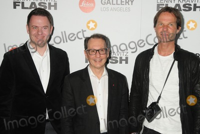 """Lenny Kravitz, Leica Gallery, Roland Wolff, Roger Horn, Steffen Keil Photo - 5 March 2015 - West Hollywood, California - Roland Wolff, Roger Horn, Steffen Keil. """"Flash"""" by Lenny Kravitz Photo Exhibition held at the Leica Gallery. Photo Credit: Byron Purvis/AdMedia"""
